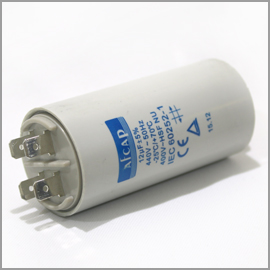 Capacitor 440V 12uF w/Term.