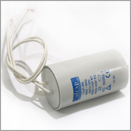 Capacitor 440V 13uF with Leads