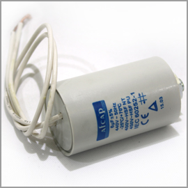 Capacitor 440V  6uF with Leads