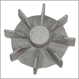 Cast Aluminium Spindle Fan