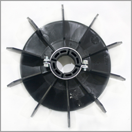 Nowax Plastic Fan MEC112 29.5x200mm with Clamp