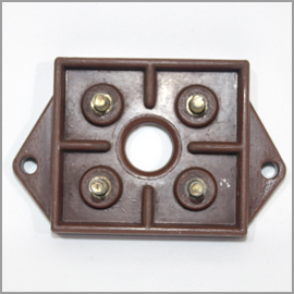 Terminal Block M5 4-stud Woods Fan