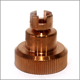 LC105 Grooved Shield Cap