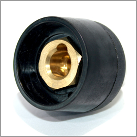 Weld Socket 50/70 500A Complete 50mm