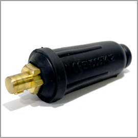 Weld Cable Plug Male 500A 50/75